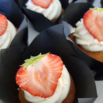 Strawberry Champagne, CupCakes Den Bosch