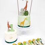Jungle Theme SweetTable, SweetTable Den Bosch