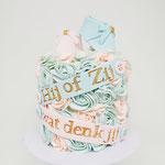 Genderreveal Cake, Babyshower Taart Den Bosch, Genderreveal Den Bosch
