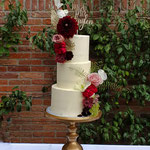 Autumn WeddingCake, Cheryll en Vince, Bruidstaart Den Bosch, Weddingcake Den Bosch lokatie Kasteel Maurick te Vught