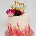 Pink is on Fire Cake, Inge, Taart Den Bosch