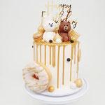 Line Friends Cake, Taart Den Bosch
