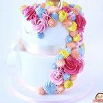 Unicorn taart, multicolor, Taart Den Bosch