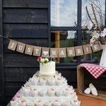Subtile WeddingCake, Joyce en Eva, WeddingCake den Bosch, Bruidstaart Den Bosch