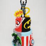 Marvel SuperHero Cake, Justin 2 jaar, Taart Den Bosch