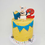 Booba Cake, Mick 2 jaar, Taart Den Bosch