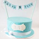 tiffany style cake, Taart Den Bosch