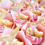It's a Girl, MermaidTail CupCake it's a girl, Genderreveal CupCakes Den Bosch, CupCakes Den Bosch