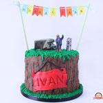 Ivan, boswachter, taart Den Bosch