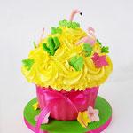 CakeSmash Tropical, Giant CupCake, Cakesmash Den Bosch