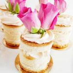 Mini Naked Cakes, taart Den Bosch, Bruidstaart Den Bosch