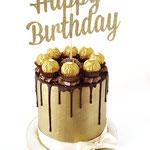 Golden Birthdayboy Cake, Taart Den Bosch