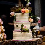Love WeddingCake Fresh Flowers, Sander en Marieke, WeddingCake Den Bosch, Bruidstaart Den Bosch. Foto; ByDainne fotografie