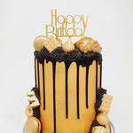 Gold and Black.DeLuxe Cake Den Bosch