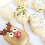 Christmas Cakesicles, Cake op een stokje
