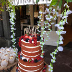 Red Velvet Naked WeddingCake, SweetTable Karin en Paul, SweetTable Den Bosch, SweetTable Den Bosch