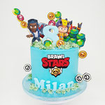 BrawlStars taart, Milan 8 jaar, Taart Den Bosch