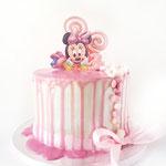 Minnie Mouse dripcake, Taart Den Bosch