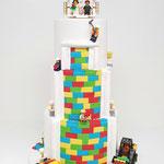 Bruidstaart Lego Bricks, bruidstaart 's-Hertogenbosch, bruidstaart den bosch,