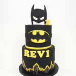 Batman Cake. Revi 2 jaar, Taart Den Bosch