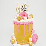Gold and Hot Pink, DeLuxe Cake Den Bosch