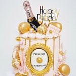 Press for Champagne, Faye 18 jaar, DeLuxe Cake Den Bosch