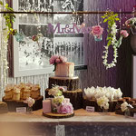 Wedding SweetTable Ursula en Richard, Theme pastel roze, SweetTable Den Bosch