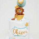 Little Lion Cake, Chavez 1 jaar, Taart Den Bosch