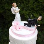 Details Naughty Weddingcouple, Roy en Birgit, bruidstaart 's-Hertogenbosch, bruidstaart den bosch