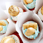 SweetTable Turquoise and Gold Theme Party, SweetTable Den Bosch