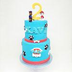 PawPatrol Cake, Xavi 2 jaar, Taart Den Bosch