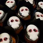 Halloween CupCake, skelet Face CupCake, Cupcakes Den Bosch
