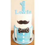 Lewis, gentleman's cake, taart Den Bosch