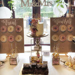 WeddingCake Flowers and GoldLeaf, Irene en Jeroen, Weddingcake Den Bosch, Bruidstaart Den Bosch