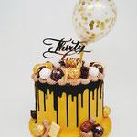 Black and Gold ChocoCake, 35 jaar, Taart Den Bosch