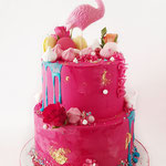 SweetTable Flamingo, Raspberry Cake, Sweettable Den Bosch