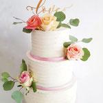 Love WeddingCake Fresh Flowers, Sander en Marieke, WeddingCake Den Bosch, Bruidstaart Den Bosch