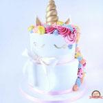 Unicorn taart, Taart Den Bosch