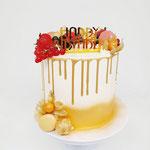 Gold and Fruit, Taart Den Bosch