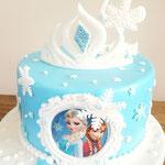 Frozen taart, Taart Den Bosch