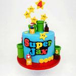 SuperMario taart, Jax 4 jaar, Taart Den Bosch