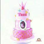 Tess Colorfull princestaart, Taart Den Bosch