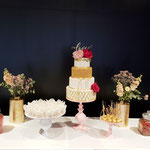 SweetTable Wedding, Golden Love Sweet Table, Sweettable Den Bosch