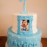 Jayden, mickey cake, taart Den Bosch