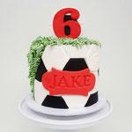 VoetbalTaart, Jake 6 jaar, Taart Den Bosch