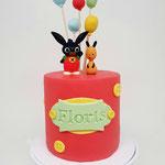 Bing Cake, Floris 2 jaar, Taart Den Bosch
