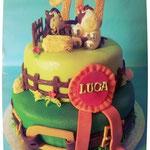 Paardentaart Luca, taart Den Bosch