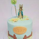 Peter Rabbit Cake, Finn 3 jaar, Taart Den Bosch