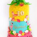 Tropical BirthdayCake, Vienna 10 jaar, Taart Den Bosch