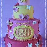 Vrolijke taart, Isa, Taart Den Bosch